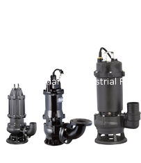 Heavy Duty Submersible Sewage Pump 20-8500 m3/h Flow Range For Drainage System